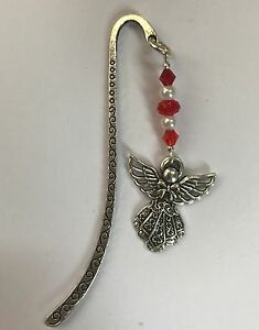 GUARDIAN-ANGEL-BOOKMARK-TIBETAN-SILVER-BIRTHDAY-GIFT-CHRISTMAS-PRESENT