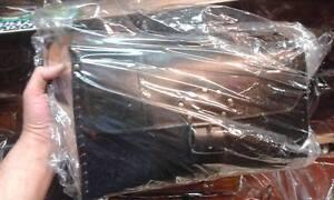 Bag Tracolla Borsa Donna 31x20 In Pelle Artigianale L13cm Cuoio Con Nera 0OvNym8nw