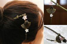 Hair Pin Sword Stick kanzashi Sengoku Kimono Yukata Accessory Japan Free dress