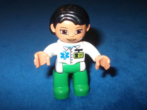 Lego Duplo Krankenhaus 1 X Figur Männchen Ärztin Mama aus 5795 Modern