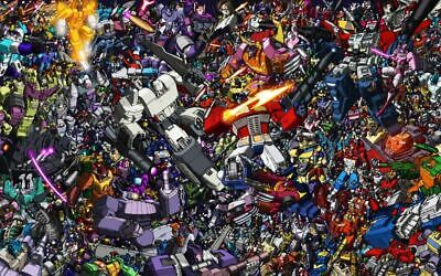 TRANSFORMERS Poster Wall Art Home Photo Print 24x36 inches 2
