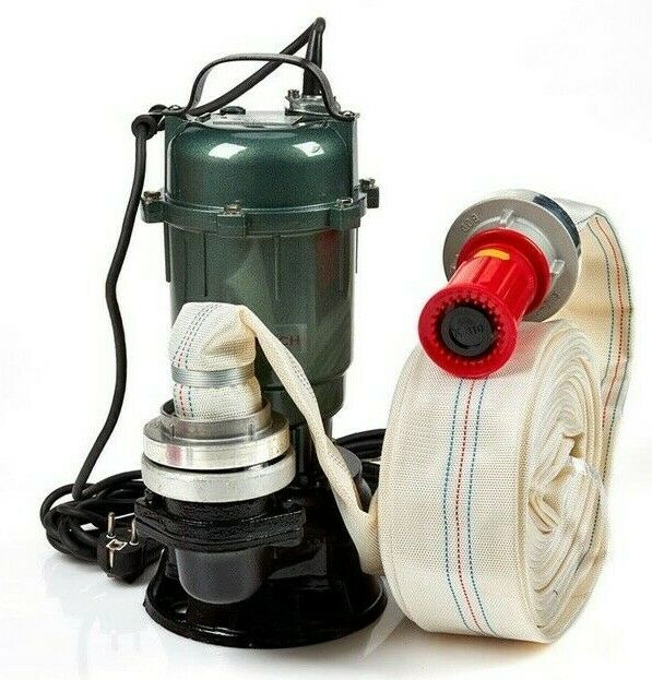 Submersible pump Float 3150 IDEAL FOR DIRTY WATER...with 20 m of hose
