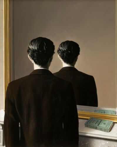 """RENE MAGRITTE Surrealism Art Poster or Canvas Print /""""Not To Be Reproduced/"""""""
