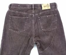 Diesel Cochise 36x28 Corduroy Jeans Button Fly Straight Brown Cotton Blend Italy
