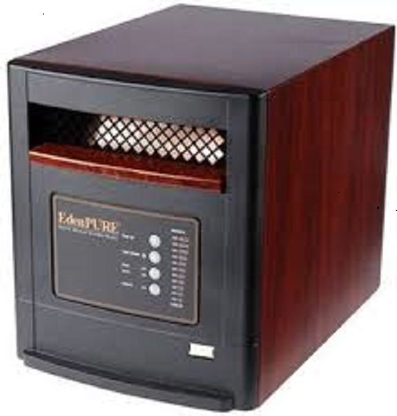 Refurbished w//remote EdenPURE Infared Heater USA1000 Made in the USA