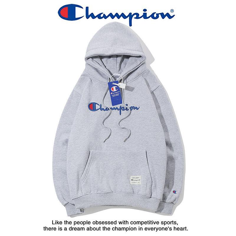 New Men Champion Hoodies Hooded Sweatshirts Outwear