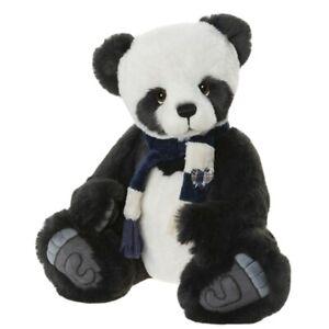 Charlie Bears 15 Inch Piran Super Soft Black & White Panda from US Stockist