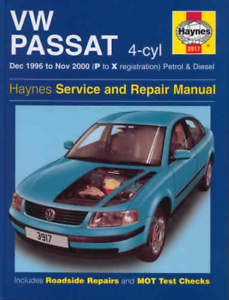 VOLKSWAGEN PASSAT SHOP MANUAL SERVICE REPAIR BOOK DIESEL HAYNES VW 2006-2010