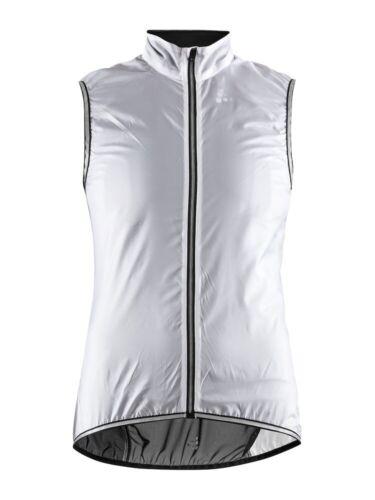 Craft Lithe Vest W in Black/White leichte wasserabweisende Weste Damen in Gr. L
