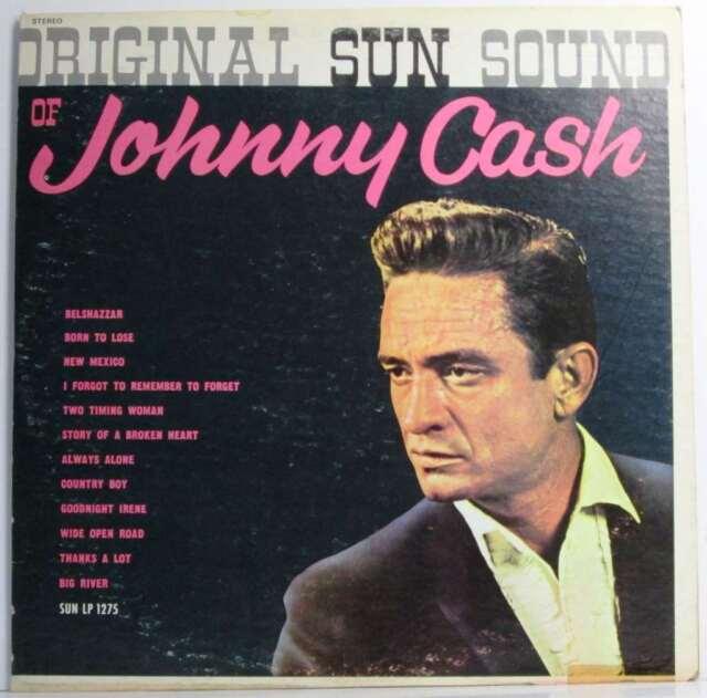 Original Sun Sound of Johnny Cash (Sun LP 1275)...Vinyl.Very Good