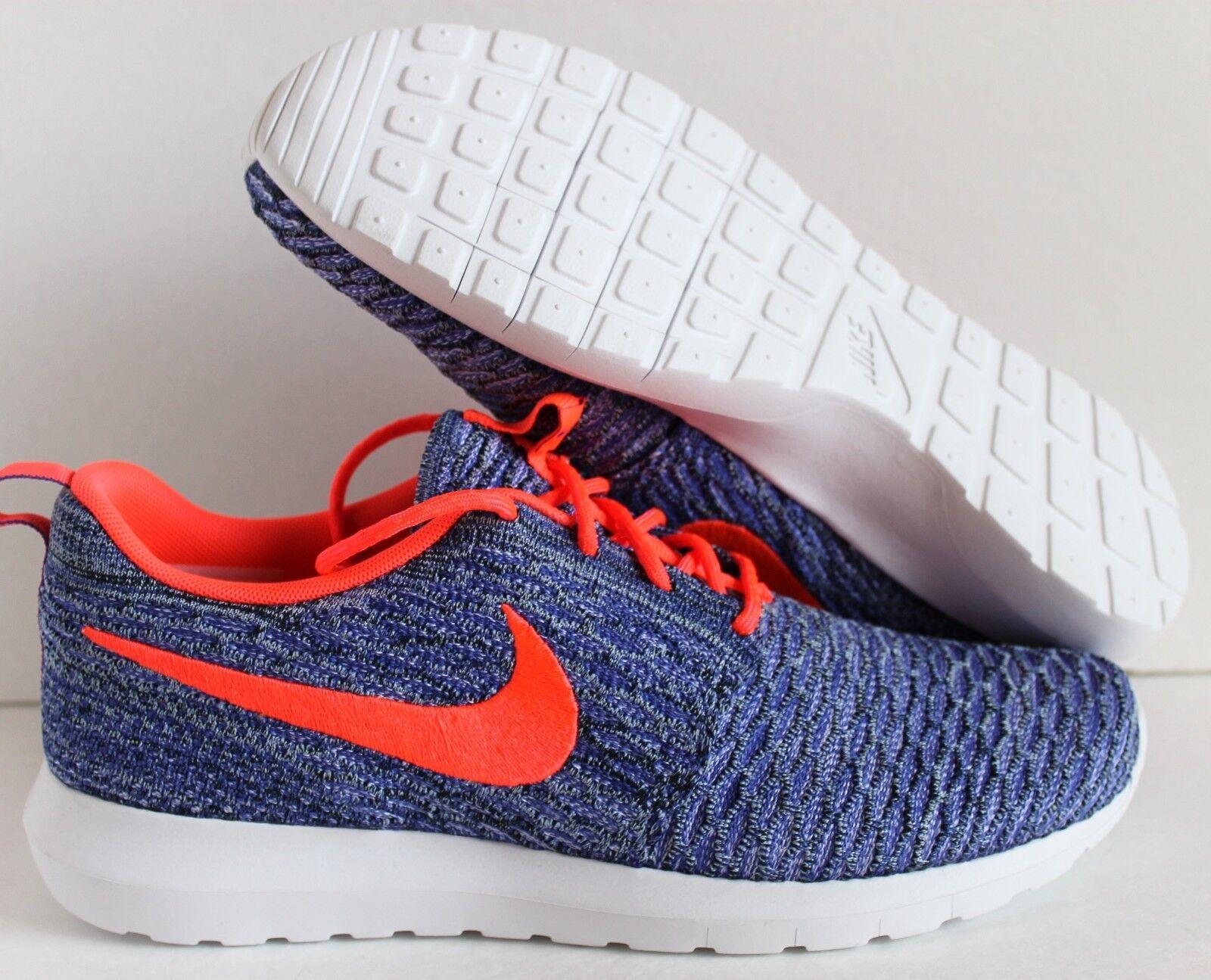Nike lava flyknit rosherun persiano violet-hot lava Nike sz - 677243-500] aeae36