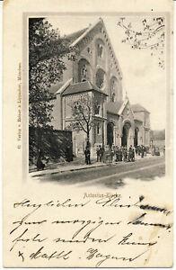 AK München, Antonius-Kirche; gel. am 19.7.1901
