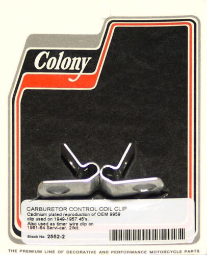 Harley 49-64 Coil Clip 9959 Colony 2552-2