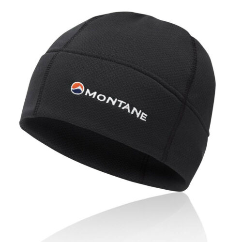 Black Sports Outdoors Warm Breathable Lightweight Montane Mens Iridium Beanie