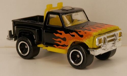 Matchbox 1978//1979 Ford F150 Pickup Truck Flareside 4x4 Black /'78///'79 F-150