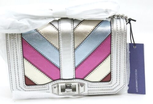 Free Shipping NEW w// Tags Rebecca Minkoff PATCHWORK Small Love Crossbody