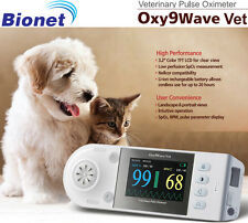 NEW ! Bionet Oxy9Wave VET Pulse Oximeter for Veterinary Use, 2 Yr Warranty
