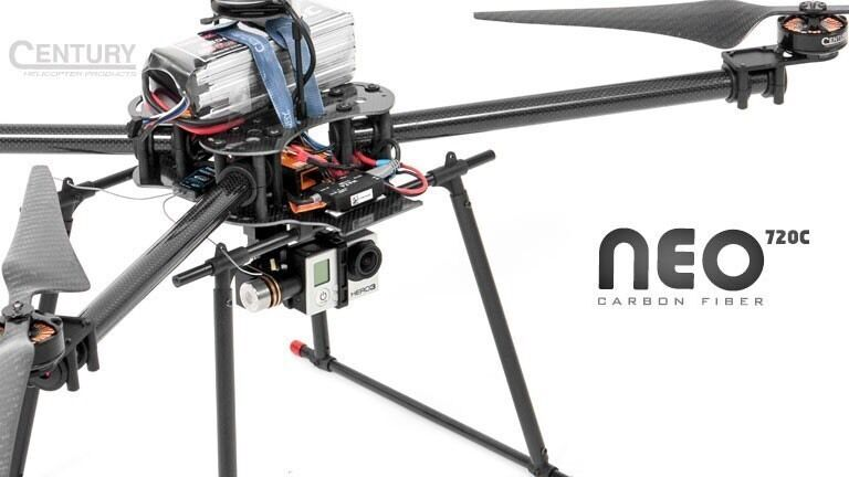 Century Neo 720 C BNF Cuadricóptero Drone