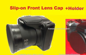 FRONT-SLIP-ON-LENS-CAP-TO-CAMERA-CANON-S2IS-S3IS-POWERSHOT-S2-S3-IS-HOLDER