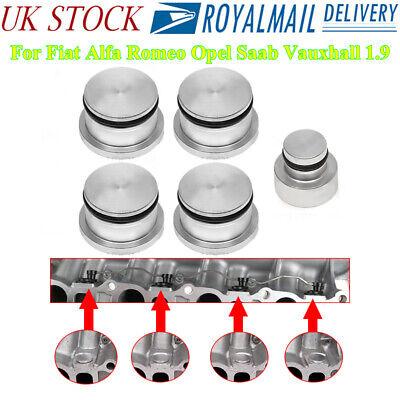 FOR VAUXHALL SAAB ALFA ROMEO 1.9 CDTI MANIFOLD SWIRL FLAP CAPS REMOVAL KIT UK