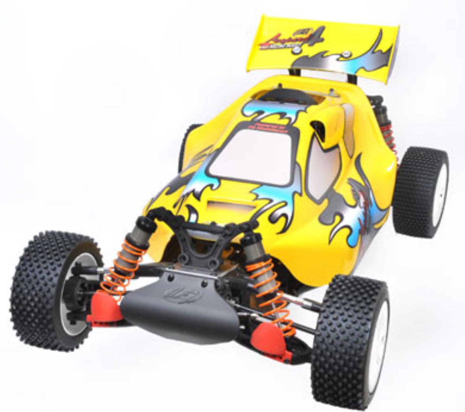 FG modellsport r LEOPARDO 4 Sportsline sin lacar RTR con mando a distancia