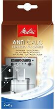 Melitta AntiCalc Powder For Espresso Machines (Pack of 2 sachets)