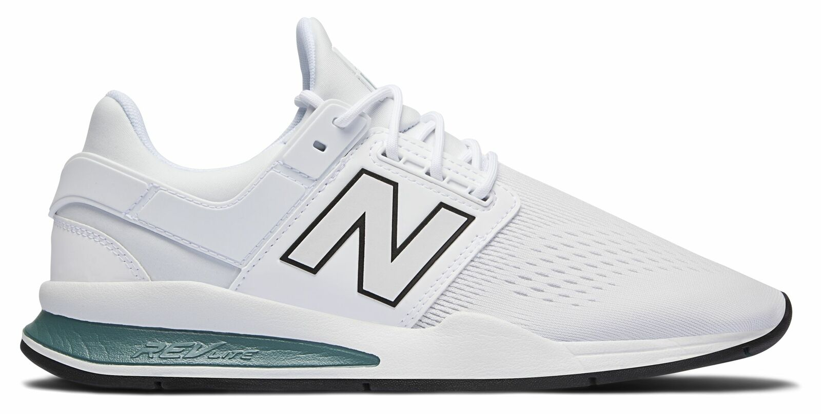 ecc30c70cf New Balance Male Men s 247 Sport Style Lightweight shoes White With bluee