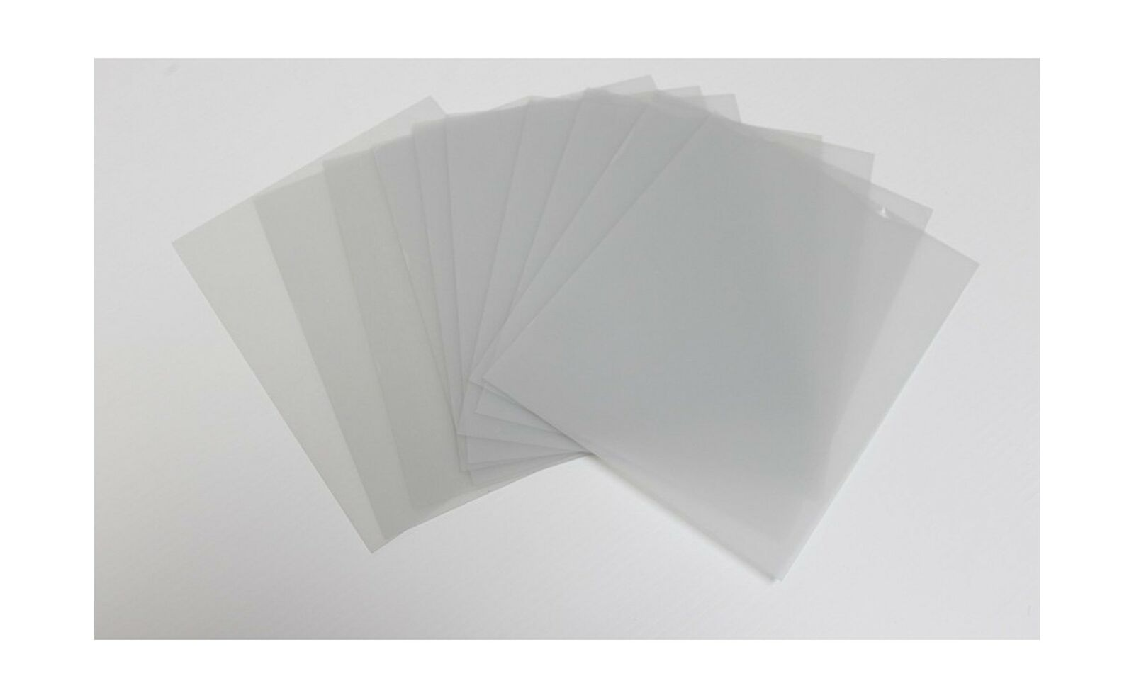 Imperial Acrylics 10 Pack 8x10 Inch Transparent Clear Acrylic Sheets//Plexiglass Panels 0.04 Inch Thickness; Great for Picture Frame Glass Replacement Crafting and DIY Home Projects Event//Table Signs