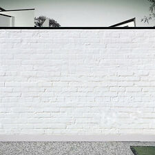 White Brick Wall Vintage Backdrop Studio Photography Background Photo Props Tool