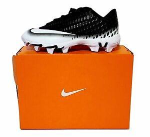 Nike-Baseball-Cleats-Vapor-Ultrafly-2-Keystone-Black-White-Kids-Youth-sz-5-5-6Y