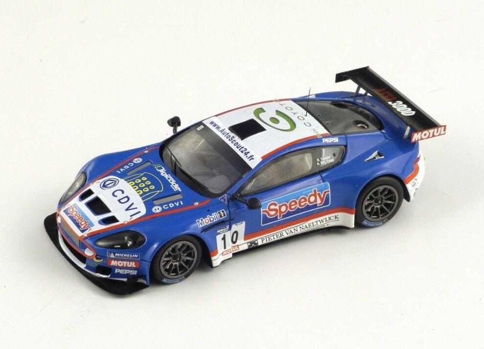 Aston Martin DBRS9 GT3 SPEEDY  10 Beltoise  FFSA  2010 (Spark 1 43   SF002)