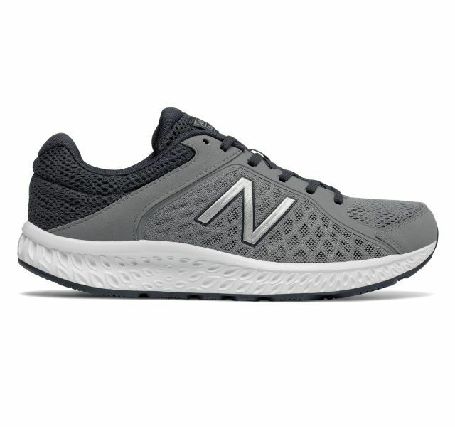 New! Uomo New Balance 420 v4 Running  Shoes - 4E wide - Grey