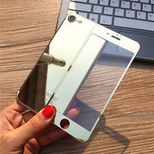 Gold Front Back Mirror Tempered Glass Screen Protector Case For Apple iPhone 7