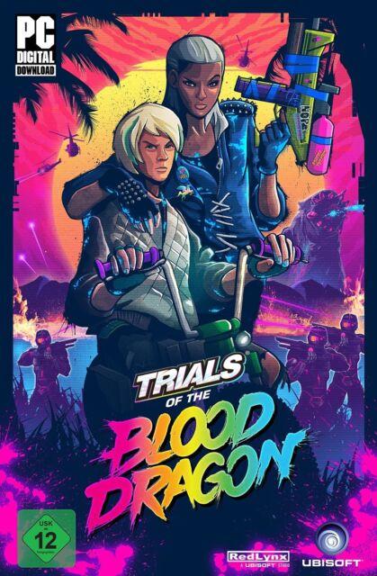 Trials of the Blood Dragon - Uplay Key - Code [No Steam] Digital - Ubisoft - PC