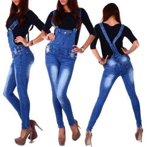 10834 patta Pantaloni Con Spalline Jeans a Sigaretta Jeans Overall Pantaloni Jeans patta