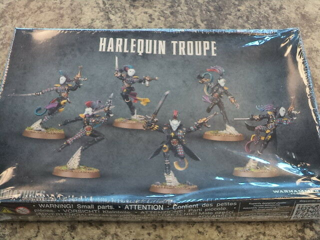 Harlequin Troupe - Warhammer 40k 40,000 Games Workshop Model New New New  e09cfd