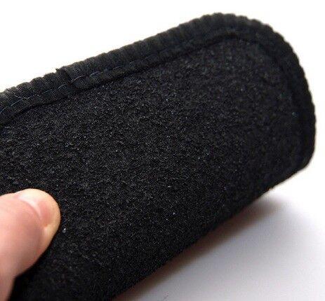06-13 Perfect Fit Black Carpet Car Mats for Citroen C4 Grand Picasso -Heel Pad