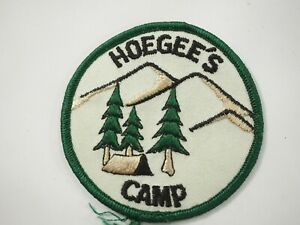 Boy-Scouts-America-BSA-Hoegees-Camp-Cloth-Patch