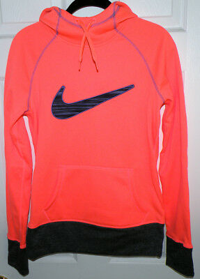 Women S Nike All Time Therma Fit Workout Hoodie Swoosh Size S In Brite Orange Ebay Relevance lowest price highest price most popular most favorites newest. ebay