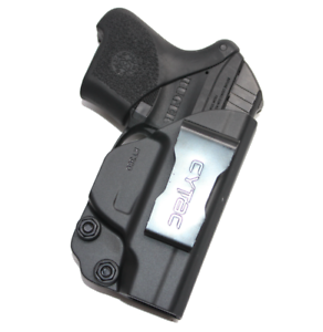 Concealed-Carry-IWB-Gun-Holster-for-Ruger-LCP-380-Black-Polymer-Inside-Waistband