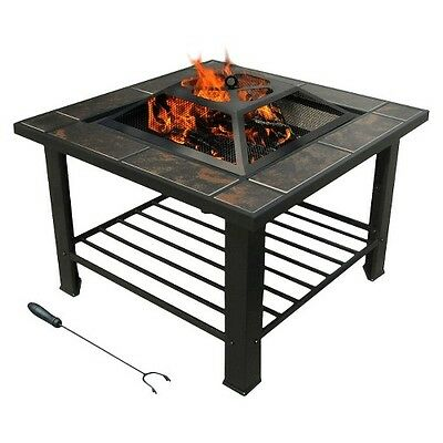 leisurelife Florence Coffee Table / Firepit