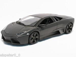 Lamborghini-Reventon-Vitrine-schwarz-Bburago-Street-Tuners-Modell-1-32-Neu