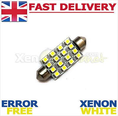 Fits Vauxhall Corsa B C D Frontera SRI LED Interior Light Festoon Bulb 264 44m