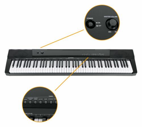 Digital 88 Tasten Keyboard E-Piano Stage Piano 146 Sounds Split Layer Twinova