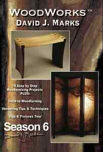 Details About David J Marks Woodworks Season 6 Dvd Woodworking Furniture Instruction Diy Video