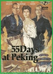 55-Days-at-Peking-1963-Charlton-Heston-Ava-Gardner-David-Niven-NEW-DVD
