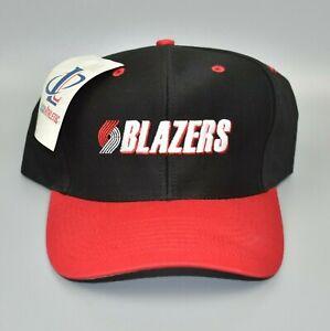 Portland-Trail-Blazers-Vintage-90-039-s-Logo-Athletic-Snapback-Cap-Hat-NWT