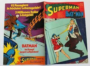 Superman und Batman Heft 15 von 1973 - EHAPA Verlag TOP -  Z1-*