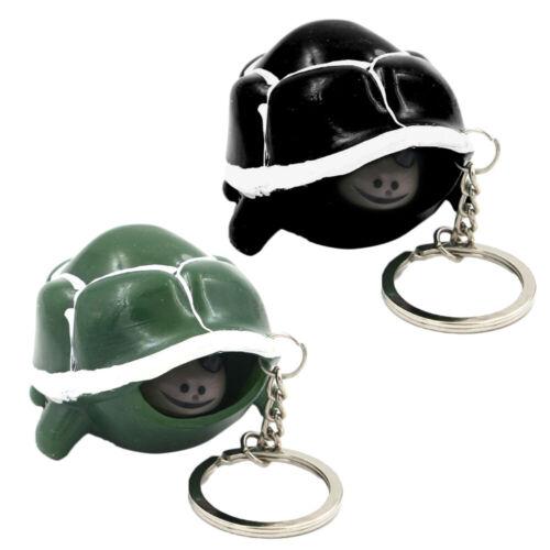 2pcs Key Ring Creative Turtle Keychain Pendant Key Chain Key Ring for Decoration