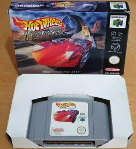 Hot Wheels Racing Turbo para Nintendo 64 N64 PAL Raro Y En Caja